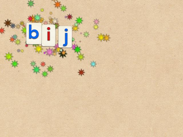 woorden vinden met letters