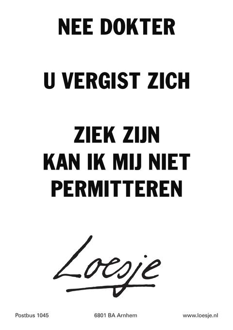 loesje_ziek